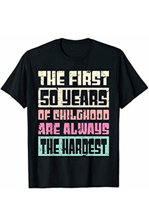 Birthday by Art Like Wow 50th Birthday Funny Gift For Men & Women 50 Years Old T-Shirt
