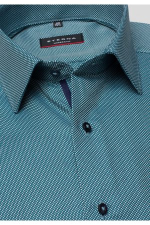 ETERNA LONG SLEEVE SHIRT MODERN FIT TWILL MINT STRUCTURED