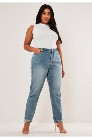 Missguided Plus Size Wrath High Waisted Straight Jeans