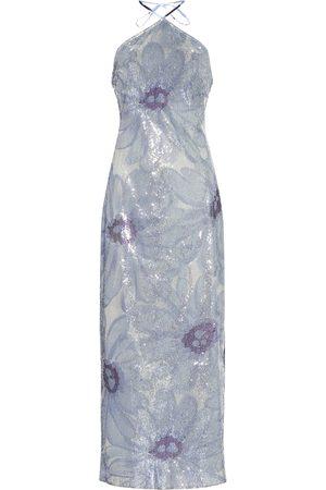 Jacquemus La Robe Lavandou sequined dress