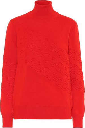 Tory Burch Gemini merino wool sweater