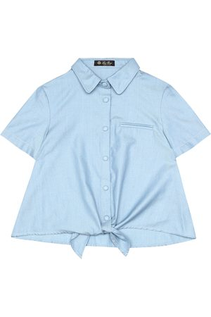 Loro Piana Cotton chambray shirt