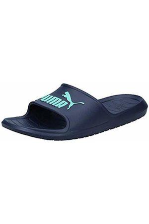 Puma Unisex Adults' Divecat v2 Beach & Pool Shoes, Peacoat- Turquoise