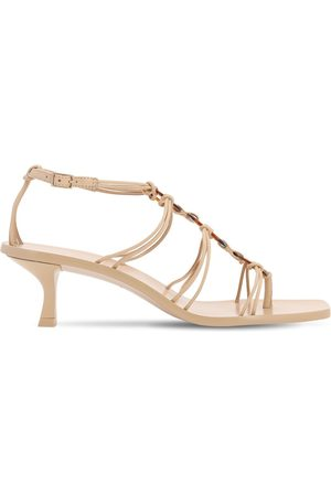 Cult Gaia Women Sandals - 50mm Ziba Leather Sandals