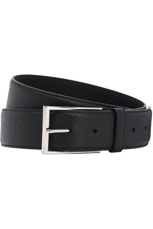Gucci 40mm Logo Leather Belt
