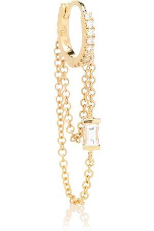 Maria Tash Diamond Eternity 18k single earring with diamonds