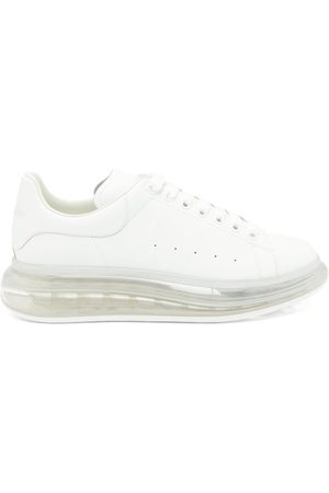 Alexander McQueen Men Trainers - Raised Bubble-sole Leather Trainers - Mens