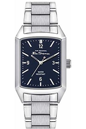 Ben Sherman Mens Analogue Classic Quartz Watch with Stainless Steel Strap BS013USM
