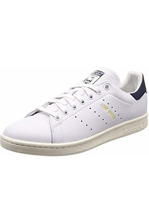 adidas Men's Stan Smith Fitness Shoes, (Ftwbla/Ftwbla/TINNOB 000)