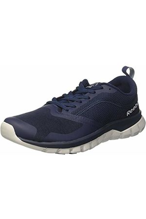 Reebok Men's Sublite Authentic 4 Running Shoes, (Navy/ /Blk BD4605)