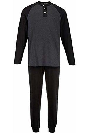 JP 1880 Men's Big & Tall Pyjama Set Anthracite-Melange XXXXXX-Large 726612 11-6XL