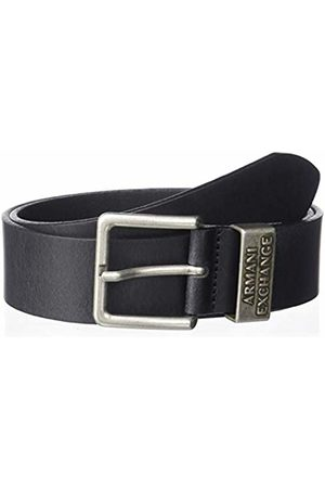 Armani Men's Cowboy Belt, (Nero- 00020)