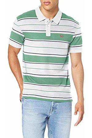 Levi's Men's Housemark Shirt, (Hm Patch Polo Dress Blues/ /Cre 0114)