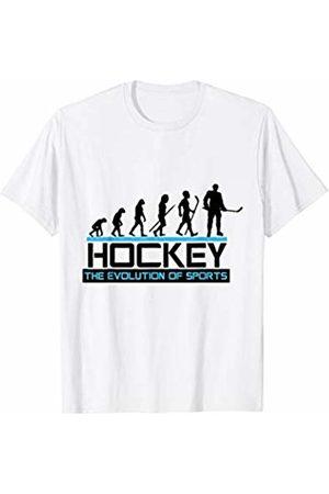 Hockey Player Superkatillz Hockey Player Evolution Sports Fan T-Shirt