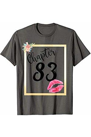 MMN Women Birthday Gifts Co Chapter 83 years 83rd happy birthday lips girls women gift T-Shirt