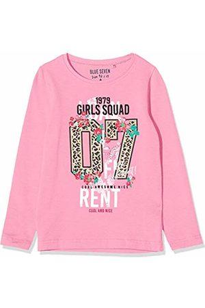 Blue Seven Girl's Mädchen Langarmshirt Mit Leoparden-Print Sweatshirt