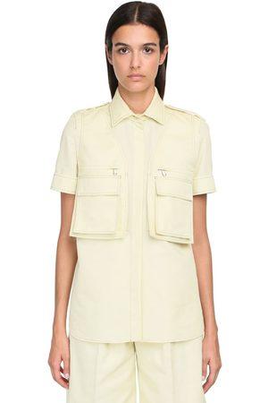 Max Mara Cotton Bull S/s Shirt