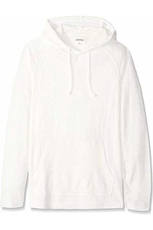 Goodthreads Men's Long-sleeve Slub Thermal Pullover Hoodie T-Shirt, (ivory)