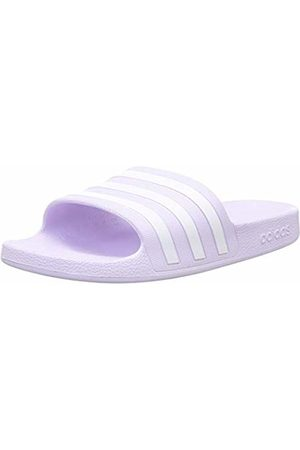 adidas Women's Adilette Aqua Sandal, Tint/Footwear / Tint
