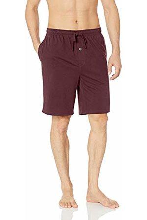 Amazon Knit Pajama Short Burgundy