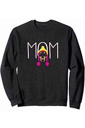 Dachshund Doxie Mom and Funny Wiener Gifts Dachshund Gift Wiener Dog Beanie Doxie Mama Dachshund Mom Sweatshirt