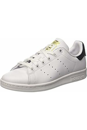 adidas Unisex Kids' Stan Smith J Low-Top Sneakers, Off FTWR /core