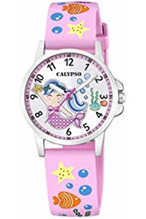 Calypso Girl's Analogue Analog Quartz Watch with Plastic Strap K5782/1