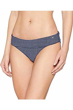 Short Stories Women's Swim Slip with Foldover Bikini Bottoms, ( Sea)