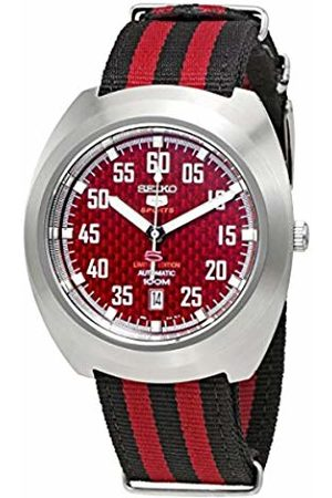 Seiko Men's Analogue Automatic Watch with Textile Strap SRPA87K1