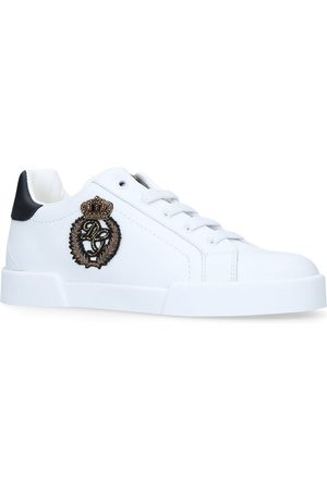 Dolce & Gabbana Logo Crown Patch Sneakers
