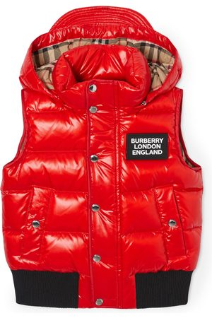Burberry Detachable Hood Gilet