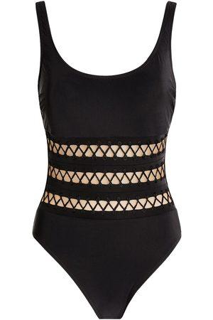 gottex Rouleau Stripe Swimsuit