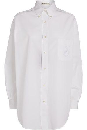 Etro Women Shirts - Oversized Embroidered Shirt