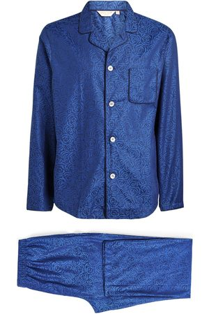 DEREK ROSE Cotton Rose Pyjama Set