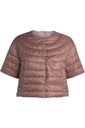 Max Mara Women Jackets - Reversible Cropped Jacket