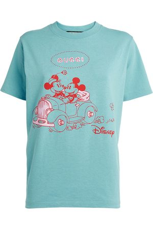 Gucci X Disney Mickie and Mini Mouse T-Shirt