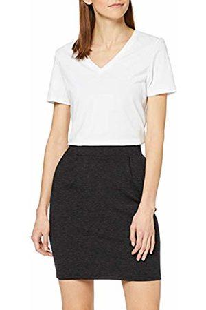 ICHI Women's Kate Sk Skirt, Dark Melange