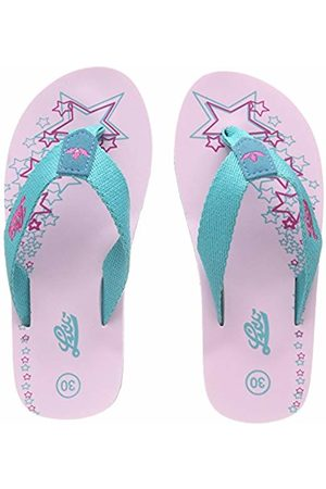 Lico Girls' Tao Beach & Pool Shoes, Turquoise Tuerkis/ Lot