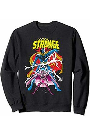 Marvel Doctor Strange Blue Mage Form Poster Sweatshirt
