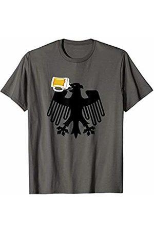 Miftees German Eagle flag drinking beer funny Oktoberfest T-Shirt