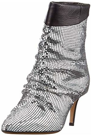 Pinko Women Ankle Boots - Women's Cannella Ankle Boots, (Argento Zzf)
