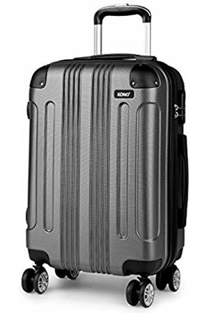 """Kono 20"""" Cabin Suitcase Hard Shell ABS Hand Luggage with 4 Spinner Wheels (Small 20"""")"""