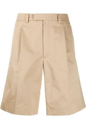 Prada Straight-leg bermuda shorts - Neutrals