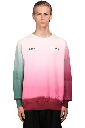 AMBUSH Logo Print Cotton Jersey Sweatshirt