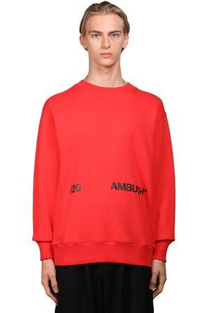 AMBUSH Logo Print Jersey Sweatshirt