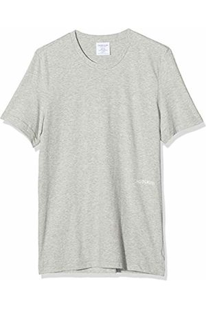 Calvin Klein Women's Crew Neck Pyjama Top Lot of 2, ( Heather/Army DUST FQ4)