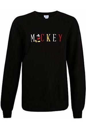 Disney Women's Mickey Multi Title Sweatshirt Sweater