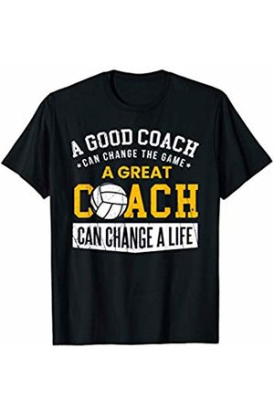 Gifts for Coaches Men Women Coaching Present Volleyball Coach Gift Appreciation Team Player Love Sports T-Shirt