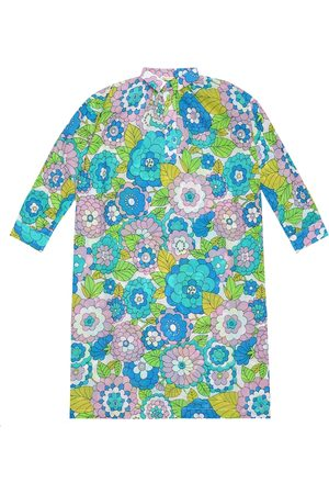 Dodo Bar Or Kids Floral cotton kaftan