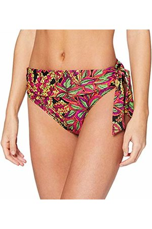 Pour Moi Women's Heatwave Fold Over Tie Brief Bikini Bottoms